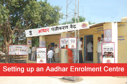 To motivate ten people to reach AADHAR registration center