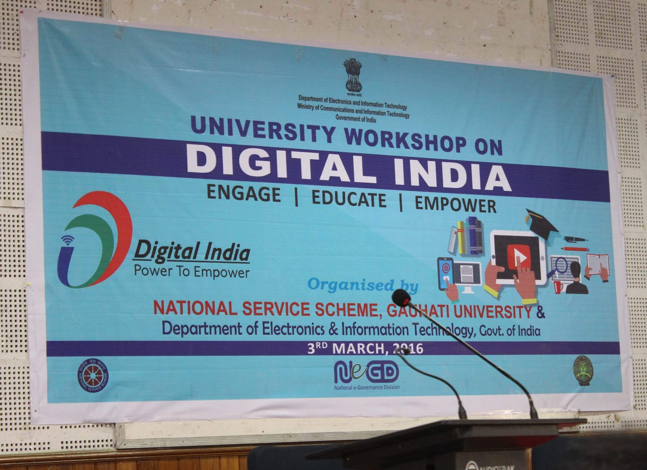 To inspire at least 5 new persons to become Digital India Volunteers(DigiSevak)