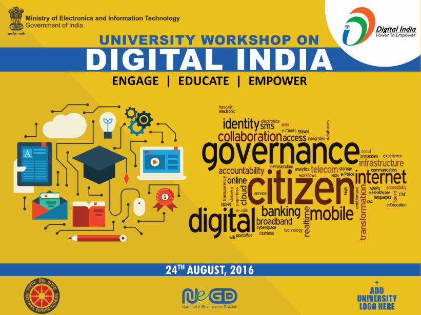 Share your personal experience with Digital India university workshop